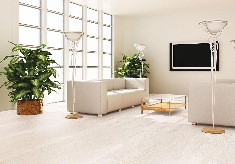 Дуб натур серый в интерьере фото со светлой мебелью